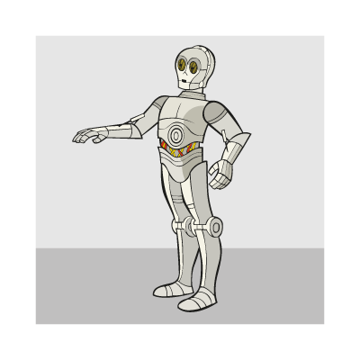 C3PO logo vector