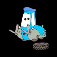 Cars Guido vector logo