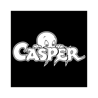 Casper Black logo vector