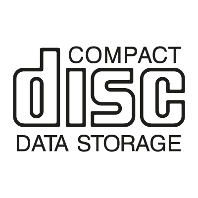 CD Data Storage logo vector