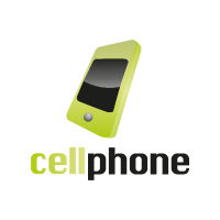 Cell phone vector logo