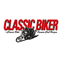 Classic Biker vector logo