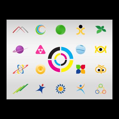 Colorful Icon logo template