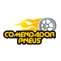 Comendador pneus vector logo