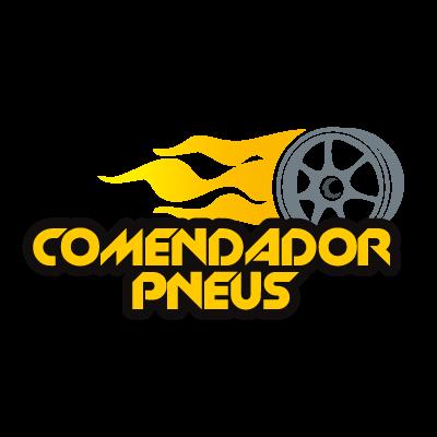 Comendador pneus logo vector