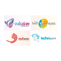 Company logotype logo template