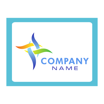 Company name logo template