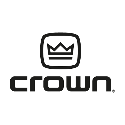Crown Audio logo vector