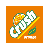 Crush Orange vector logo