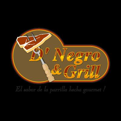D' Negro & Grill logo vector