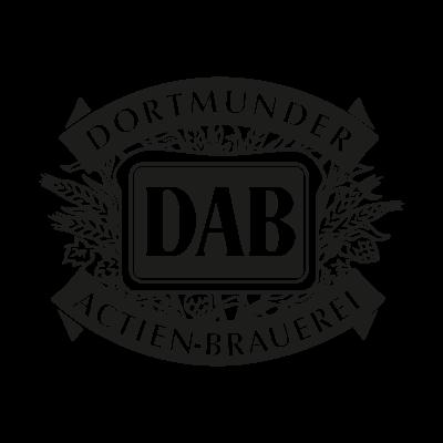 DAB logo vector