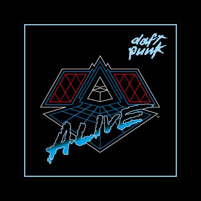 Daft Punk Alive 2007 logo vector
