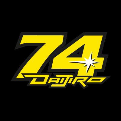 Daijiro Kato 74 logo vector