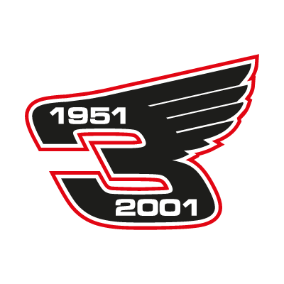Dale Earnhardt Wings logo vector