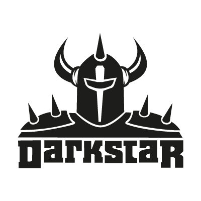 Darkstar Black logo vector