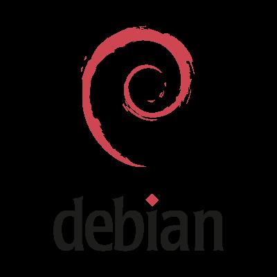 Debian (.EPS) logo vector
