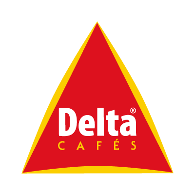 Delta Cafe logo vector