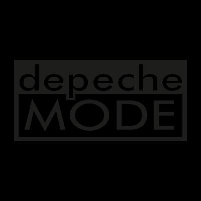 Depeche Mode Music logo vector