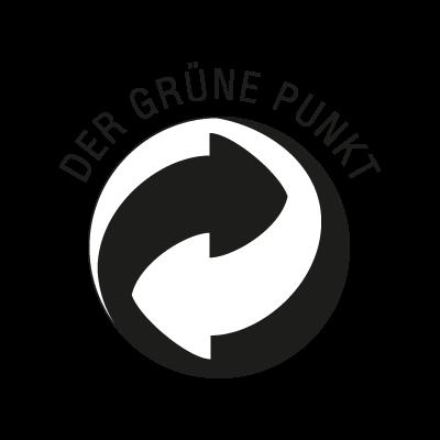 Der Grune Punkt Black logo vector