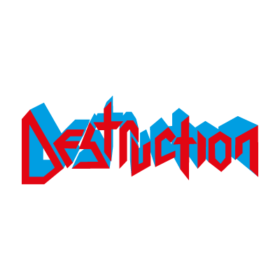 Destruction logo vector