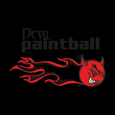 Devil Paintball logo vector