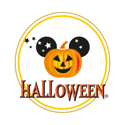 Disney Halloween logo vector