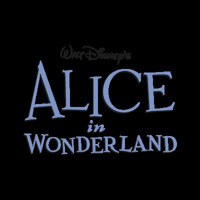 Disney's Alice in Wonderland logo vector