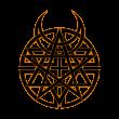Disturbed logo vector