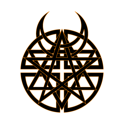 Disturbed logo vector