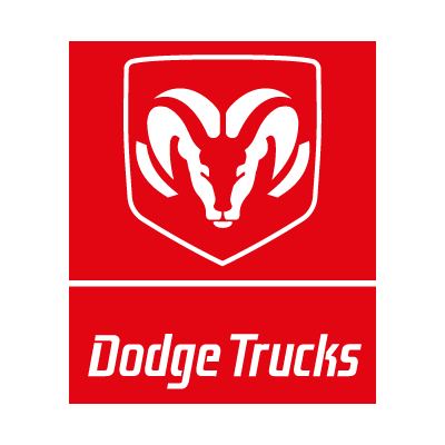 Dodge Trucks logo vector