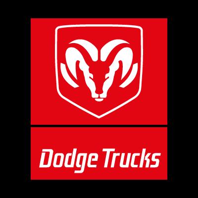 Dodge Trucks logo vector