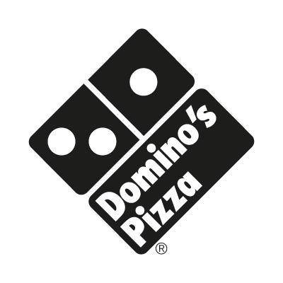 Domino's Pizza Black logo vector
