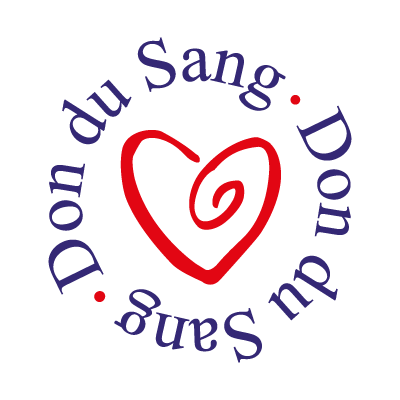 Don du sang vector logo