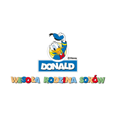 Donald Disney logo vector