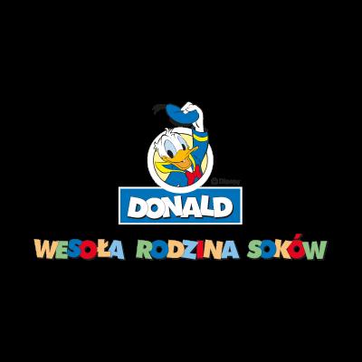 Donald Disney logo vector