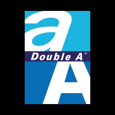 Double A logo vector