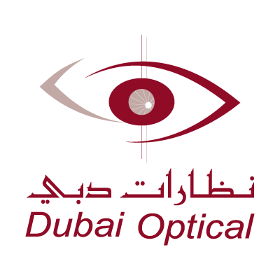 Dubai Optical logo vector