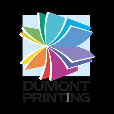 Dumont Printing logo vector
