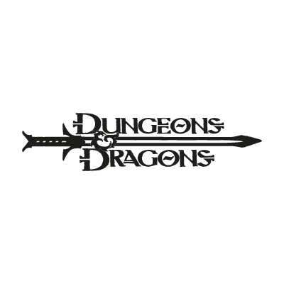 Dungeons & Dragons logo vector