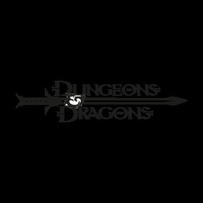 Dungeons & Dragons logo vector
