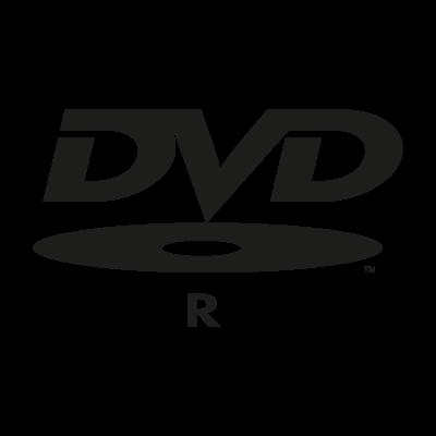 DVD R logo vector