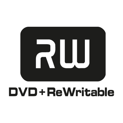 DVD ReWritable logo vector