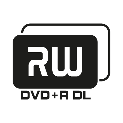 DVD+R DL logo vector