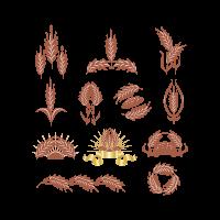 Graphics designs badges logo template