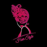 Hair style logo template