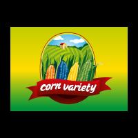 Health food Corn cultivate logo template