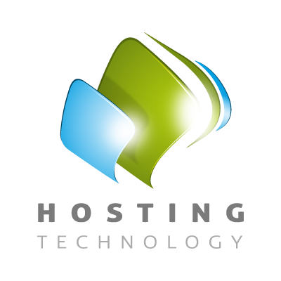 Hosting logo template