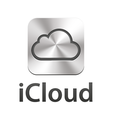 icloud icon logo template icloud icon logo template
