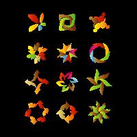 Icon Design Elements logo template