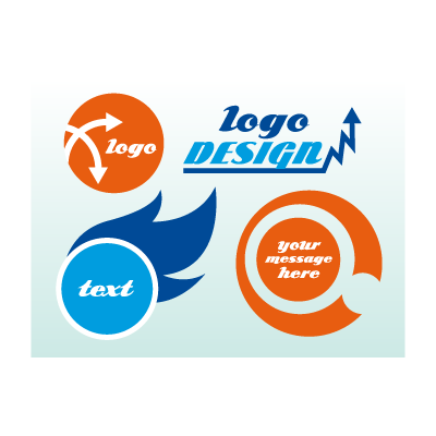 Marketing business card logo template